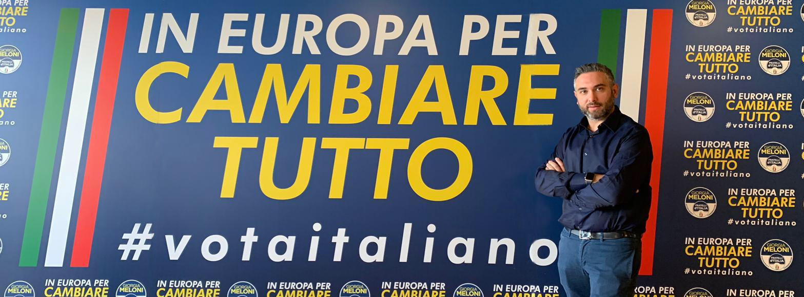 Elezioni Parlamento europeo 26 maggio 2019 - Nesci Denis candidato di Fratelli d'Italia per la circoscrizione Meridionale